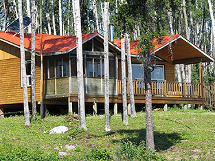 Mojikit Channel Outpost Fishing Camp