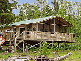 Grayson Lake Fishing Outpost Camp