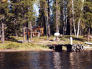 Poshowconk Lake Outpost Cabin