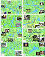 Fishing Maps Wabakimi Park and Ogoki River